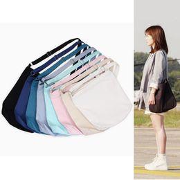 Wholesale Plastic Bags For Shopping - Lady Single Shoulder Bag Adjustable Canvas Handbag Portable Women Shopping Storage Crossbody Bags For Multi Color 13 98xx C R