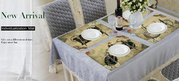 Wholesale Wedding Decor For Tables - Home Decor Retro Cars Placemat Linen Fabric Table Mat Dishware Coasters For Kitchen Accessories Wedding Party Decoration