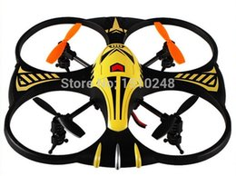 Wholesale R Plane - Wholesale-2.4G 4CH Remote Control RC Mini 4 Axis UFO Aircraft R C Toys Built-in Gyro RTF Helicopter LED Light plane