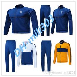 Wholesale Grey Sweatshirts - New 2018 Top quality MARCHISIO DYBALA survetement jacket Training suit 17 18HIGUAIN DANI ALVES MANDZUKIC jackets tracksuit Sweatshirt set