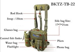 Wholesale Lure Bags - Preminum Quality iLure Multi-Purpose Canvas Fishing Bags Lure bags Fishing Tackle Free Postage!!