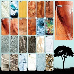 Wholesale Iphone Skin Tree - Soft TPU Marble Tree Stone Grain Skin Back Case Protector Shell For iphone 5 5S 6 4.7 Plus 5.5 inch