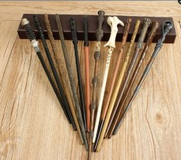 Wholesale Wizard Wands Wholesale - with iron core 22 type Deluxe Harry Potter Hogwarts Magic Magical Wand Wizard (Advanced Edition)100pcs
