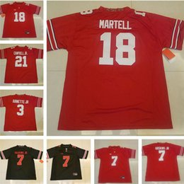 Wholesale Campbell S - Ohio State Buckeyes College Football 18 Tate Martell 7 Dwayne Haskins 3 Damon Arnette 21 Parris Campbell Jr. White Red Black Stitched Jersey