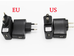 Wholesale Wall E Free Shipping - High Quality ego Charger for E-cigarette ego EVOD series wall charger USB Or US EU Charger Plug Free Shipping to United States