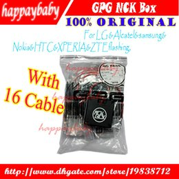 Wholesale Unlocking Cable Universal - The newest vesion NCK Box For LG &Alcatel&samsung&Nokia&HTC&XPERIA&ZTEflashing, software repair and unlocking pack with usb cables