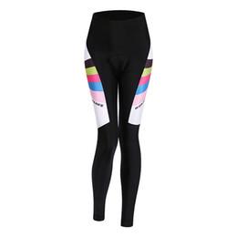 Wholesale Women Bike Suit - 2017 New WOSAWE fall bike riding suit cycling pants silicone seat cushion women's rubber seat BC17