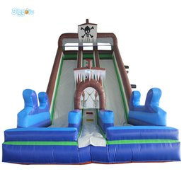 Wholesale Commercial Inflatables - Giant Outdoor Commercial Inflatable Slide ,Inflatable Slide With Bounce House For Kids