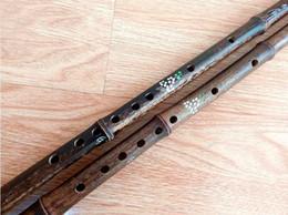 Chave de flautas de bambu d on-line-Flauta De Bambu chinês Dizi Tradicional Artesanal Transversal Sopros de Madeira Bambu Flauta 2017 NOVA Música Instrumento Musical Não Xiao C / D / E / F / G chave