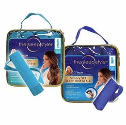 Wholesale Memory Hair - 12pcs bag The Sleep Styler Rollers Curl Hair While Sleeping Memory Foam Size 8*4cm Curling Irons FREE DHL