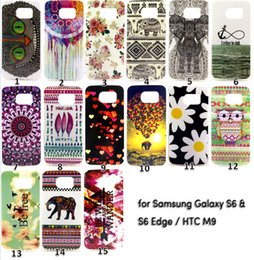 Wholesale Elephant Design Cases - Elephant Owl Flower Style Soft TPU Cover Case for Samsung Galaxy S6 & S6 Edge HTC M9 15 Designs