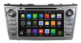 Wholesale Toyota Android Capacitive - Pure Android 4.4.4 8inch Capacitive Touchscreen Car DVD Player For Toyota CAMRY 2007-2011