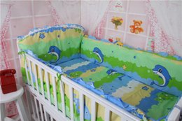 Wholesale Cheap Cot Bedding Sets - 4-10 Pcs Bedding Set High Quality Cheap Baby Crib Set Comfortable Baby Cot Bedding Set 100% Cotton Juegos De Sabanas