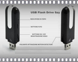 Wholesale Mini U8 Dv - 30 lot MINI spy key camera DV U8 HD Mini USB Disk Camera DVR Motion Detect Camera Cam SPY Hidden Camera Free Shipping