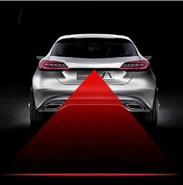 2019 lampadina a commutazione colore Auto moto rosso laser posteriore anti-collisione fendinebbia sicurezza avviso segnale fanale posteriore lampada lampadina