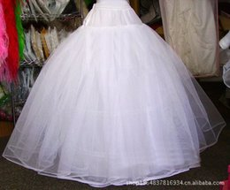 Wholesale Dress Quinceanera Hot Sale - 2015 Free Shipping Hot Sales New Arrival Ball Gown Petticoats Tulle Petticoat For Wedding Dress Slip 3 Hoop Skirt Girls Quinceanera Dresses