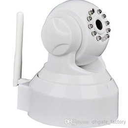 Wholesale Cheap Wireless Cctv Cameras - IP Camera P2P PNP Wireless Two-way Audio Security Night Vision Motion cheap safe CCTV Camera 300k Pixel view on Iphone and andriod Mobiles
