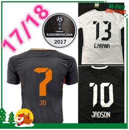 Wholesale Brazil Soccer - Brazil Corinthian 2017 2018 Paulista Soccer Jerseys 17 18 Gilchmei Best Thailand Quality Johnath Marlone Azevedo da Silva Football shir