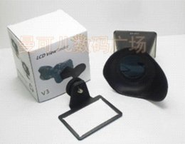 Wholesale V3 LCD Viewfinder view finder quot inches Magnifier x Eyecup Hood for Canon EOS D D