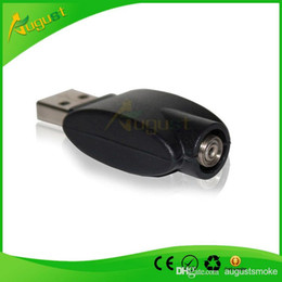 Wholesale Ego Electric Cigarettes - wireless cable eGo Battery Charger USB electric cigarette smoking metal pipe sneak a toke click n vape direct charge computer USB