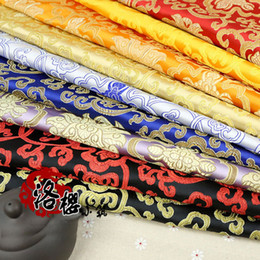 Wholesale Advance Flower - Ancient Chinese Clothing Hanfu Baby Clothes Kimono Silk Cloth Advanced Fabric Brocade Rich flowers Series
