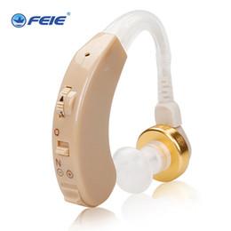 mini hörte hilfe Rabatt Tragbarer Mini-Digital-unsichtbares Hörgerät Ohr-Sound-Verstärker hinter dem Ohrton Lautstärke einstellbar Hörgeräte Dropshipping S-138