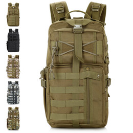 Wholesale Tactical Carrying Bags - Wholesale-Outdoor Military Tactical Assault Backpack Attack Backpack Brand MOLLE Hiking Bag Out Bag Survival SWAT Police Carry