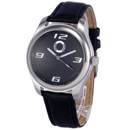 хорошие машины Скидка Хорошее качество популярный автомобиль Бен логотип мужской кожаный ремешок кварцевые наручные часы 505