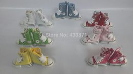 Wholesale Blythe Doll Shoes - Wholesale-Free shipping Doll's shoes accessories canvas shoes (shoes for blythe,tangkou,licca,pullip ,1 6 doll)