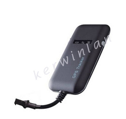 Wholesale Vehicle Software - NEW Realtime GSM GPRS GPS Car Vehicle Tracker TK06A with Monitor GPS Tracker Software Mini Personal Tracker Build in works worldwide
