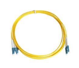 10PCS / sac 3M 50/125 LC-LC UPC multimode Duplex cordon de raccordement en fibre optique LC-LC UPC 9/125 3M fibre optique cavalier ? partir de fabricateur