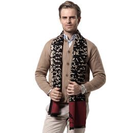 Wholesale Gray Plaid Scarf - Luxury Brand Winter Cashmere Scarf Mens New 2017 Plaid Autumn Winter Fashion Black Red Gray Warm Scarf Men Scarves
