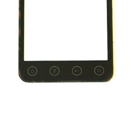 Wholesale Evo 3d Touch Screen - Wholesale-Touch Screen Digitizer For HTC EVO 3D G17 Replacement Touch Panel With Sensor Flex Outer Front Glass Lens + Opening Tools NP177