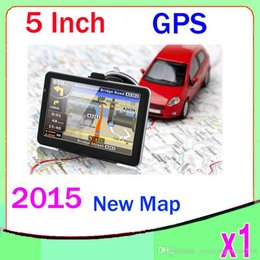 Wholesale Tft Gps Navigation - 5inch car gps navigation,TFT touch screen,built-in 4gb suport fm,mp3,video player,.wince6.0 1PCS ZY-DH-02