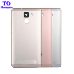 Wholesale Huawei Phone Housing - For Huawei Honor 7 Battery Back Cover Case 5.2 Inch For Honor 7 Phone Housing Back Battery Door Case Accessories