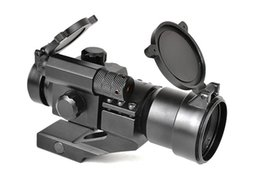 Wholesale Laser Locks - M2 18-22MM Red Laser Hunting Scopes Optics Dot Reticle Scope with Locking Turrets free shipping