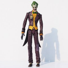 Wholesale Pvc Cans - Superheroes Batman The Joker PVC Action Figure joint can moving Collection Model Approx 17cm Condition 100% NEW