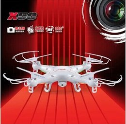 Wholesale Axis Cards - 360 Degrees Helicopters Toy LED Quadcopter SYMA X5C 2.4GHz 4CH HD FPV Camera 6 Axis RC Helicopter 2GB TF Card with 2MP Camera A486L