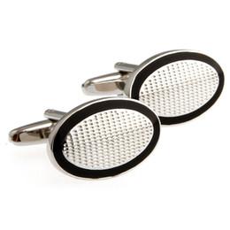 Wholesale Steel Cuff Oval - Oval plain Miss Jin Zhunan French shirt cuff cufflinks Cufflinks 140390 MTS