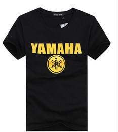 Yaz aylarında 2016 Yeni-Toptan erkek T-shirt yamaha motosiklet eğlence erkek kısa kollu T-shirt, 100% saf pamuk kısa kollu T-shirt adam nereden