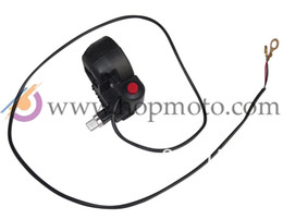 Wholesale Throttle Settle - Wholesale-Throttle settle with kill switch for 2 stroke pocket bike mini dirt bike mini quad ATV use