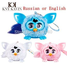 Wholesale Electronic New - 2015 new Camera Electronic Talking Firbi Elves Toys firby Copy Voice Recording Repeat Plush phoebe kid Pet Russian or English A5