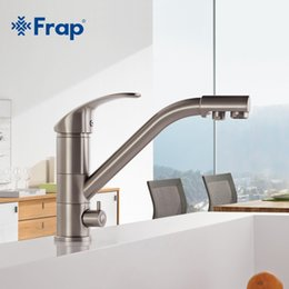 Canada High End Brass Body Nickel Brushed Kitchen Faucet Sink Mixer Tap 360  Degree Rotation