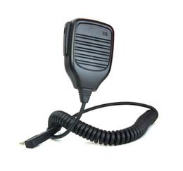 micrófono wouxun Rebajas Nuevo 2 PIN C504 Handheld PTT Speaker Mic para QUANSHENG PUXING WOUXUN TYT BAOFENG UV5R KENWOOD Radio Black C9001A Alishow