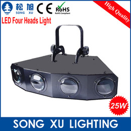 Wholesale Equipment For Party - Wholesale-hot sell led disco led four heads effect light for DJ Club Party Disco led effect light Stage Lamp Equipment SX-EL004