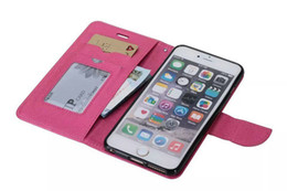 Wholesale Iphone Cross Wallet - Top Quality Cross Pattern Flip Wallet Stand With Card Holder Mobile Phone Bags Leather Case for iphone5 5s 6 6s plus