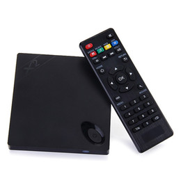 Wholesale Smart Tv Box Free Shipping - Beelink X2 Android 4.4 TV BOX H3 Quad Core Wifi 1G 8G H.265 Smart TV 14.2 KDI Free Shipping