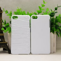 Wholesale Diy 3d Sublimation Case - DIY 3D Blank sublimation Case cover Full Area Printed For iphone X 4 4s 5 5s 5c SE 6S 6 PLUS 7 8 7 PLUS Galaxy s8 s8 plus 20pcs lot