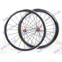 Wholesale Carbon Alloy Road Wheels 38mm - 700C Carbon Fiber Road Bike Wheelsets 38mm 50mm Clincher Road Bicycle Wheels for Adults 3K Weave Alloy Brake 38 50CA-20.5-10