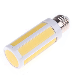 Wholesale E14 Led Cob Corn Bulb - E27 9W cob corn lamp Energy Saving 220V 360 Degree Spot Light LED cob bulb warm white  white spotlight indoor lighting free shipping